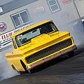 Yellow Pick Up Truck by Richard J Cassato