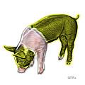 Yellow Piglet - 0878 Fs by James Ahn