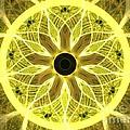 Yellow Rays by Kim Sy Ok