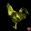 Yellow Rooster 3186 F by James Ahn