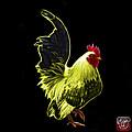 Yellow Rooster Pop Art - 4602 - Bb - James Ahn by James Ahn