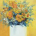 Yellow Roses by Jan Matson
