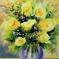 Yellow Roses by Kathy Braud