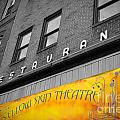 Yellow Sign Theatre by Jost Houk
