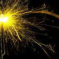 Yellow Sparkle by Samuel Whitton