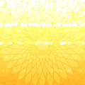 Yellow Spirograph by Chastity Hoff