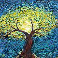 Yellow Squiggle Tree by Stefan Duncan
