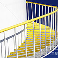 Yellow Steps 2 by Robert Woodward