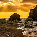 Yellow Sunset by Salvatore Mannino
