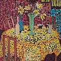 Yellow Table by Karen Coggeshall