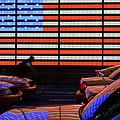 Yellow Taxis At Time Square, American by Olaser
