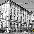 Yellow Tram by Valentino Visentini