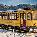 Yellow Trolley by Sue Smith