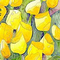 Yellow Tulips 2 by Christina Rahm Galanis