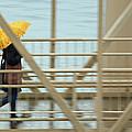 Yellow Umbrella by E Faithe Lester