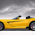Yellow Viper Roadster by Douglas Pittman