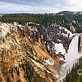 Yellowstone Falls Panorama by Jamie Pham