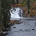 Yellowstone Falls by Teresa Howell