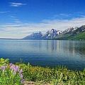 Yellowstone Lake by Donna Bevington