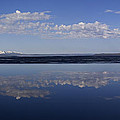 Yellowstone Lake Reflections by J L Woody Wooden