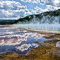 Yellowstone - Springs by Jon Berghoff