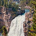 Yellowstone Upper Falls by John M Bailey