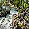 Yellowstone - Upper Falls by Jon Berghoff