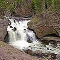 Yellowstone Waterfalls by Susan McMenamin