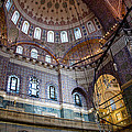 Yeni Valide  Camii Mosque Istanbul Turkey by Dray Van Beeck