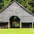 Yesterdays Barn by Elvis Vaughn