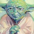 Yoda by Kimberly Santini