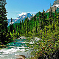 Yoho River In Yoho Np-bc by Ruth Hager