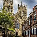 York Minster England by Trevor Kersley