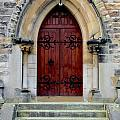 Yorkshire Church Door by Dwight Pinkley
