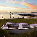 Yorktown Beach Sunset by Amy Jackson
