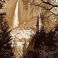 Yosemite Falls And Chapel by Jeff Lowe