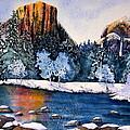 Yosemite In Winter I by Eva Nichols