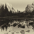 Yosemite National Park Valley View Antique Print   by Scott McGuire