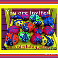 You Are Invited To A Birthday Party by Barbara Griffin