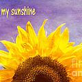 You Are My Sunshine by Arlene Carmel
