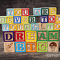 You Are Never Too Young To Dream Big by Art Whitton