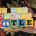 You Get What You Settle For by Art Whitton