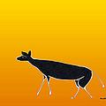 Young Antelope by Asok Mukhopadhyay