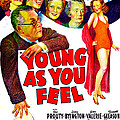 Young As You Feel, Us Poster, Jed by Everett