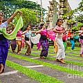 Young Bali Dancers - Indonesia by Luciano Mortula
