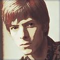 Young Bowie Pop Art by Daniel Hagerman