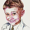 Young Boy by PainterArtist FIN