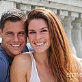 Young Couple Bridge by Henrik Lehnerer