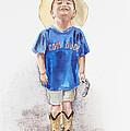 Young Cowboy  by Irina Sztukowski