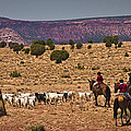 Young Goat Herders by Priscilla Burgers